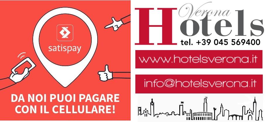 Hotelsverona accetta Satispay!