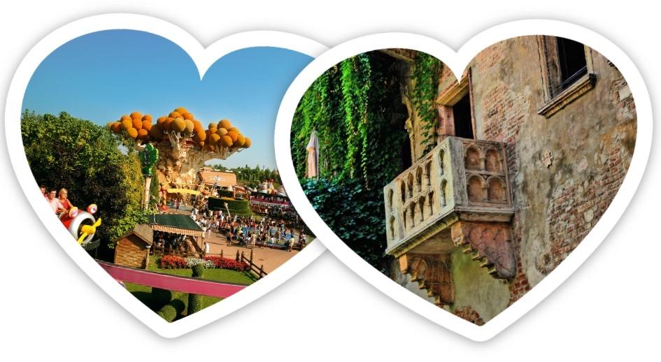 Gardaland e Verona (anche senza auto)!!