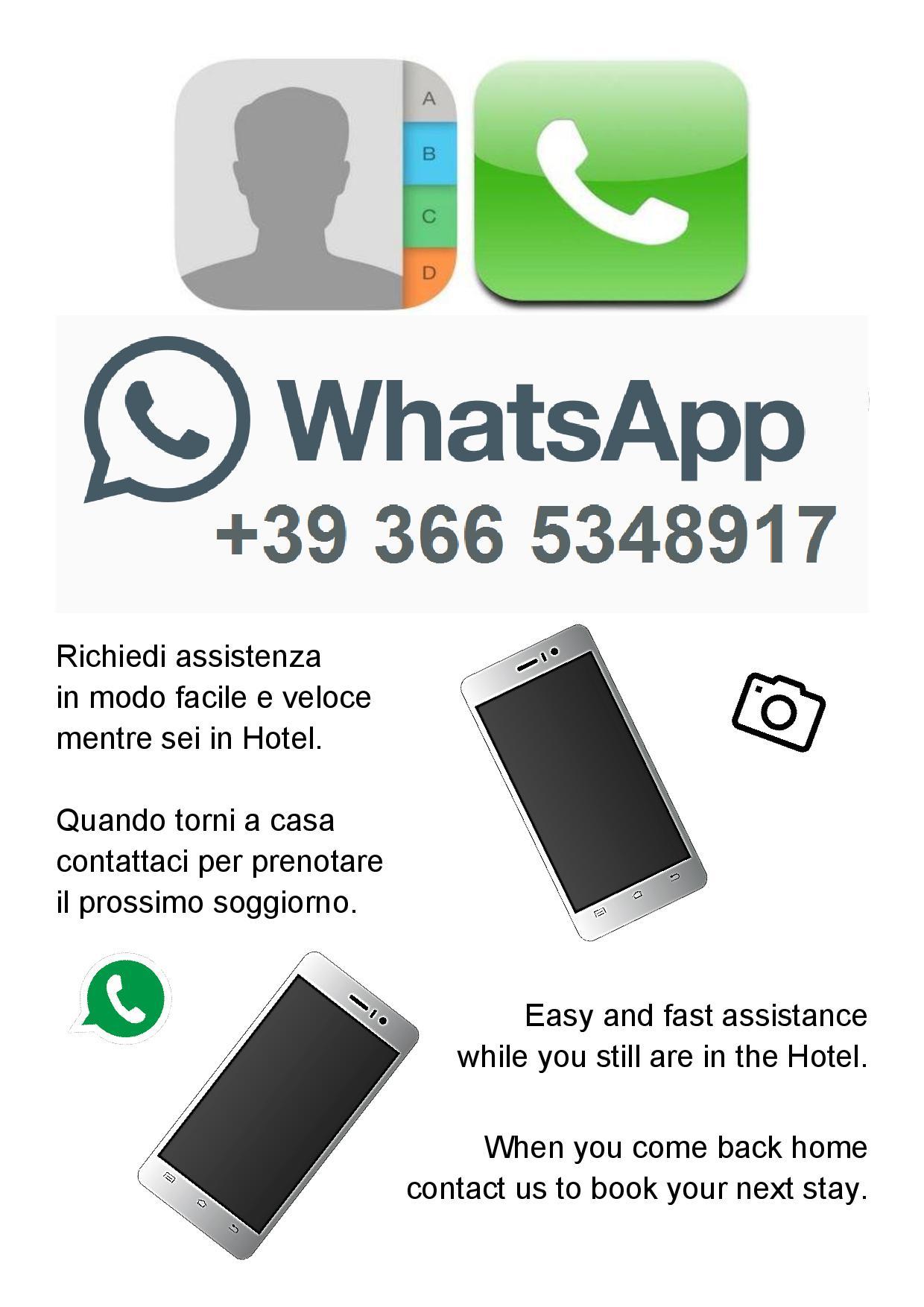 Chatta e interagisci con noi tramite WhatsApp!