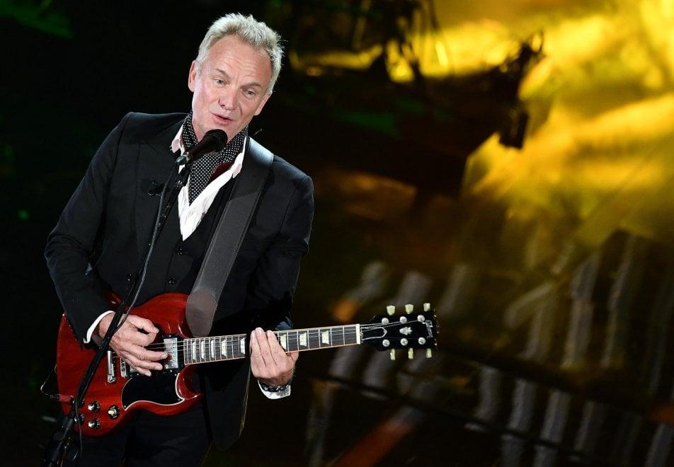 Sting all'Arena di Verona il 29 Luglio 2018