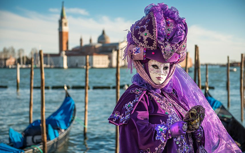 It's Carnival time in Venice!