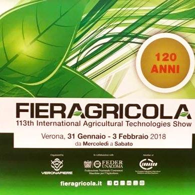 Fieragricola a Verona dal 31 Gennaio al 3 Febbraio!
