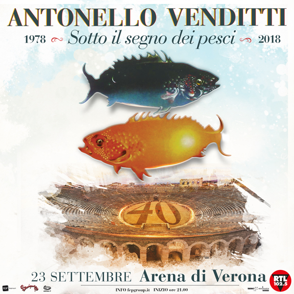 Antonello Venditti all'Arena di Verona!